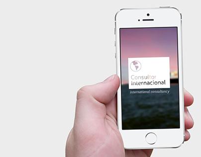 Consultor Internacional - Web Project