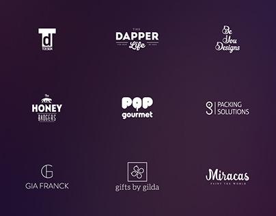 L O G O F O L I O - some of my logo designs