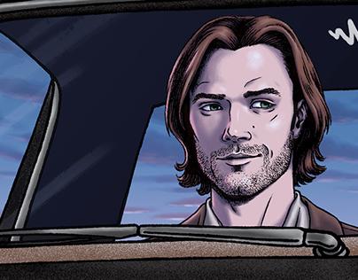 Supernatural (TV Show) | Giclee Print