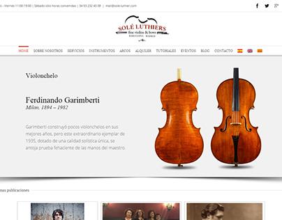 Solé Luthiers   Website