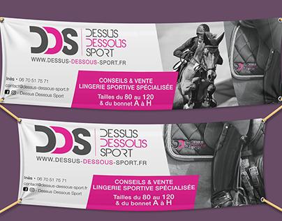 Communication print - Dessus Dessous Sport