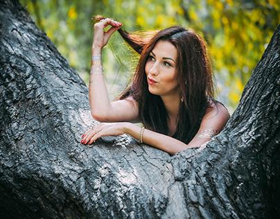 Angelika - Photo Session - Outdoors