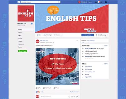 English Air-Facebook identity