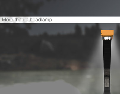 Arc Headlamp - A lighting solution for outdoor comfort.