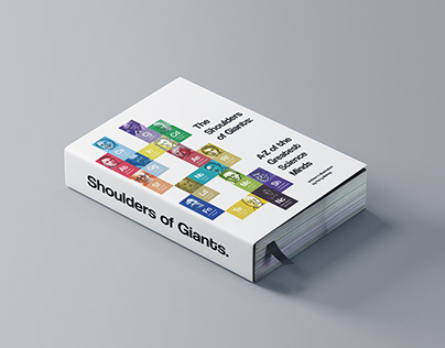 Shoulders of Giants: Book Cover Concept & Illustrations