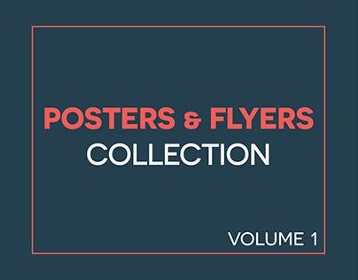 Poster & flyer design | Collection Volume 1