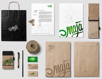 Maja Company identity