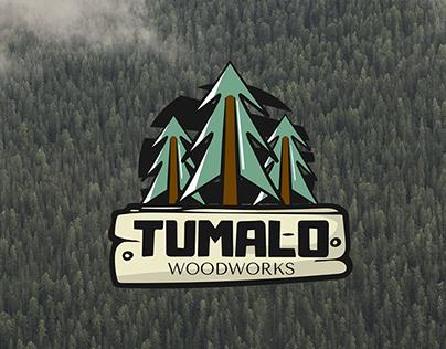 Logo for TUMALO Woodworks