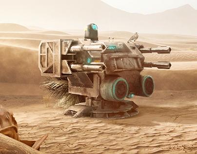 THE Desert Robot