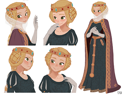 """Robin hood Queen """"Isabelle of Angoulême"""""""