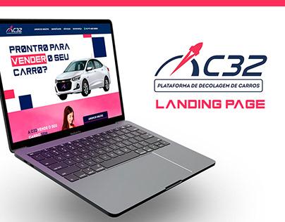 Landing Page - Plataforma C32
