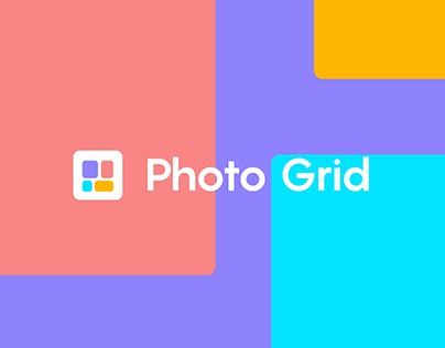 Photo Grid Mobile App Redesign