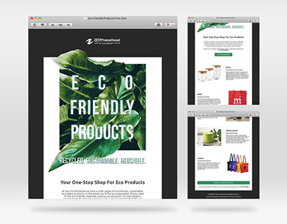 Eco-Friendly Products HTML Email