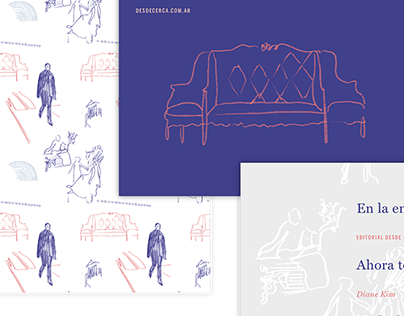 Desde Cerca - Book Cover Design