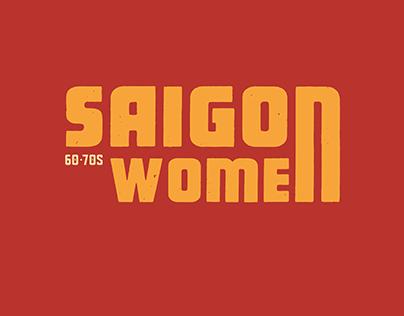 SAIGON WOMAN 1960-1970s   POSTAGE STAMP