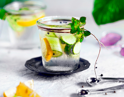 Gin&tonic splash