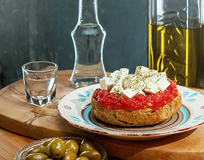 Cretan Food Photography