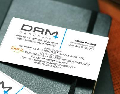 Biglietto da visita per DRM Group