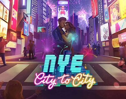 N.Y.E. CITY TO CITY