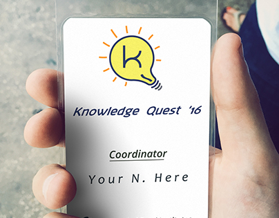 Knowledge Quest - ID Cards