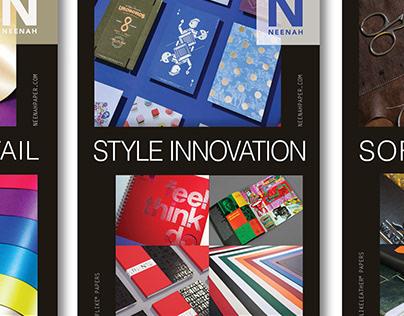 NeeNah Paper Ad Series