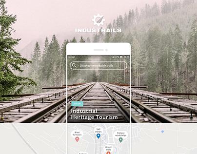 Industrial tourism travel planner app