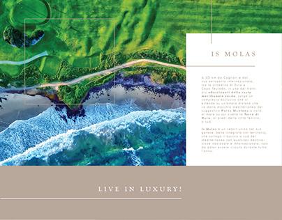 Luxury Is Molas | Web Design - Landing Page