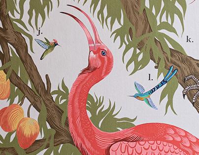 Birdhouse - murals for Wrocław's ZOO
