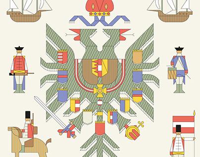 The Hasburg map, Monocle magazine
