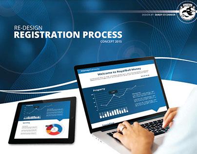 Registration Re-design