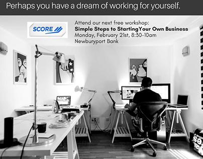 Score.org Marketing Campaign Design + Content