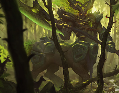 League of Legends - Elderwood Hecarim