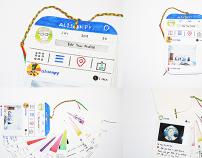Card Design: Instagram