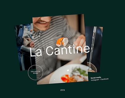 Social media - La Cantine