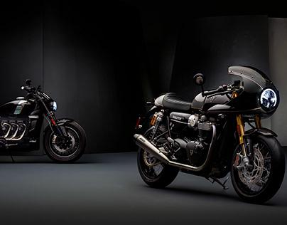 Triumph Motorcycles Film, Stills & Behind the Scenes