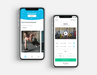 100 Weekdays Of UI - Day 002 - Workout App