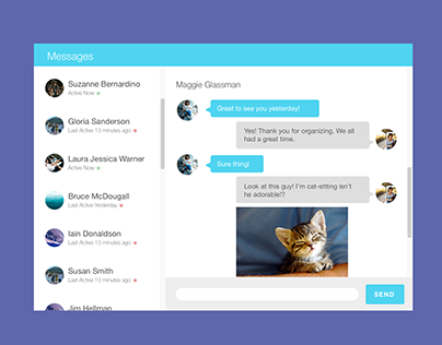 Messaging UI