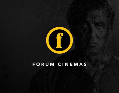 Forum Cinemas Website 2020