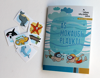 Swimming levels booklet with stickers