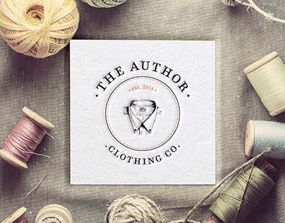 The Author Clothing Co. (Concept 1)