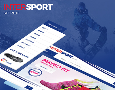 Inter Sport Store UI/UX