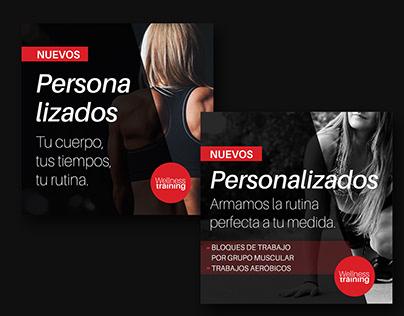 Wellness Training - Brand design