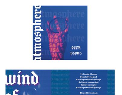 CD-BOOKLET MUSIC ALBUMCOVER DESIGN