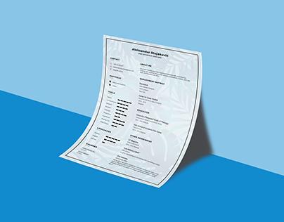 Curriculum vitae - Templates Design