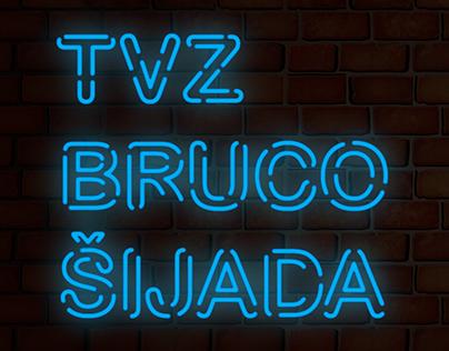 TVZ Brucošijada 2017. poster & materials