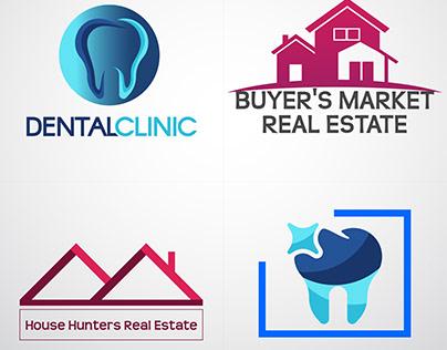 Dental & Real estate Logo