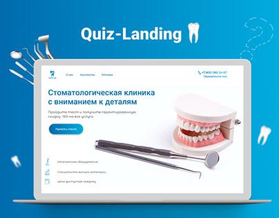 Quiz landing | Dentistry