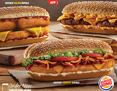 Burger King ROYALE COLLECTION ( KSA - UAE )