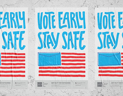 AIGA Get Out The Vote 2020 Poster