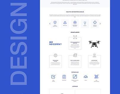 EA Solutions | Landing Page | UX/UI Design